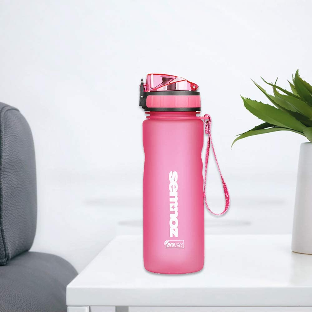 36oz Portable Outdoor Fitness Lightweight Non-Toxic Bottles with Leak Proof Flip Top Secured Lid Kslong Sports Water Bottle Drinking Tritan Plastic 18