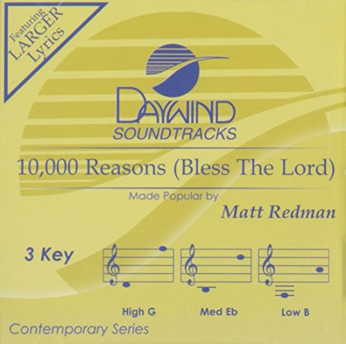 10,000 Reasons (Bless The Lord) [Accompaniment/Performance Track]
