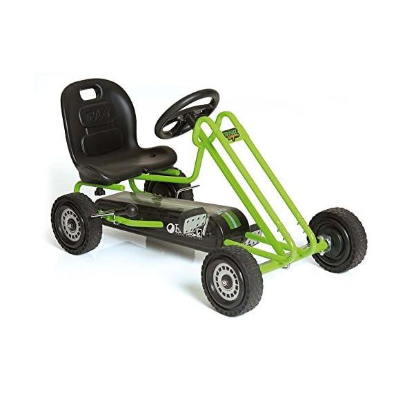 51Hg%2BdvOJZL. SS600  - Hauck Lightning - Pedal Go Kart | Pedal Car | Ride On Toys For Boys & Girls With Ergonomic Adjustable Seat & Sharp…