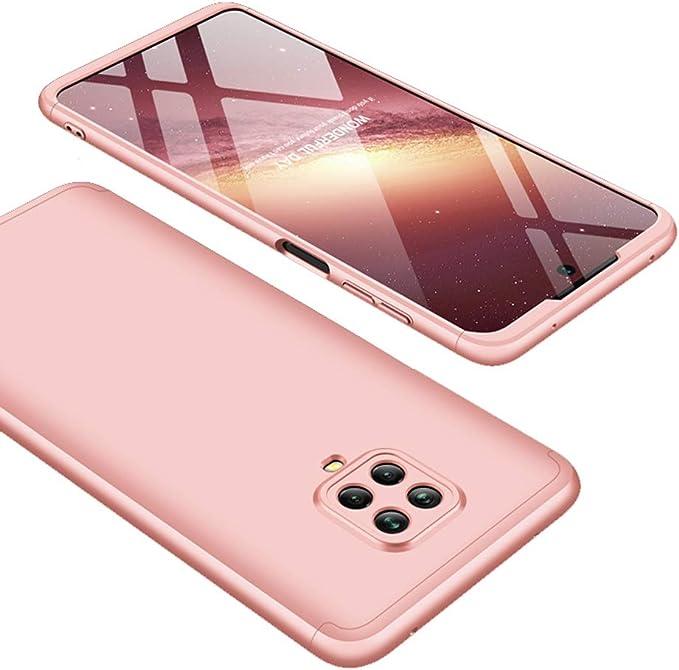 Rojo Carcasa Transparente TPU Silicona Case con Ajustable Correa de Cord/ón AROYI Funda con Cuerda Compatible con Xiaomi Redmi Note 9S//Note 9 Pro//Note 9 Pro MAX y 2 Unidades Protector Pantalla
