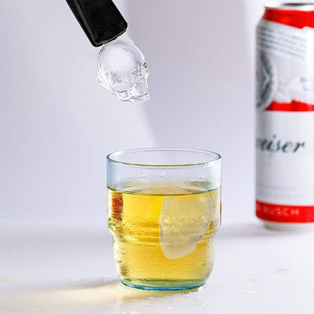 Xinlie Vassoio del Cubo Stampo Ghiaccio con Coperchio Stampo Cubetti Ghiaccio Vassoio per Cubetti di Ghiaccio Stampo per Ghiaccio con Coperchio per Gelato di Whisky 2 Pezzi
