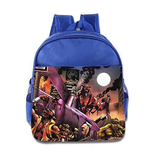 Kids Deadpool School Backpack Funny Baby Boys Girls School Bag (Little Alchemist Halloween)
