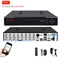 16 Channels DVR Recorder H.264 CCTV Security Surveillance System Digital Video Recorder