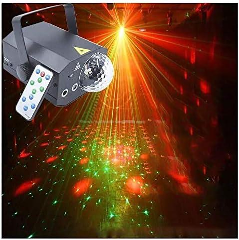 J-ステージライト 舞台照明 ディスコパーティーライトDJライト、リモートコントロール音声コントロールLEDストロボライト10 W KTVバーのFlashステージライトクラブのホームパーティーボールルームバンドウェディングショーバーカラオケKTV