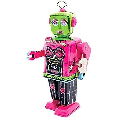 Tobar SC-RG Roberta Robot, Pink & Green: Toys & Games