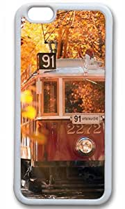 Autumn In Prague Thanksgiving Halloween Masterpiece Limited Design TPU White Case for iPhone 6 Plus by Cases & Mousepads