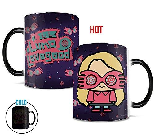 Morphing Mugs Harry Potter (Luna Lovegood Chibi) Heat Reveal Ceramic Coffee Mug - 11 (Luna Lovegood Halloween)