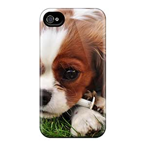 Cute Appearance Cover/tpu UBvyPAh7765ppiwz Spaniel Case For Iphone 4/4s