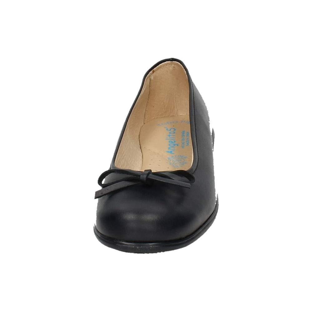ANGELITOS 465 Zapatos Colegiales NIÑA Zapato COLEGIAL: Amazon.es: Zapatos y complementos