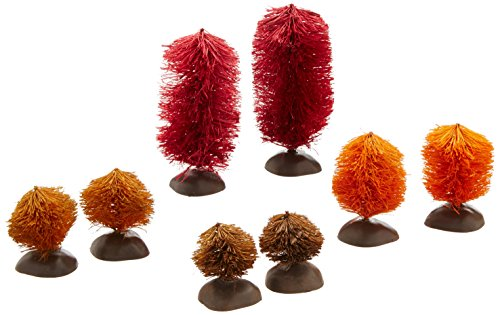 Department 56 Halloween Village Autumn Trees, Set of 8 Tree 2.76 (Halloween Village Sets)