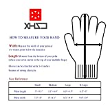 XHSJ Cut Resistant Gloves in High Performance EN388 Certified Level 5 Protection Food Grade Kitchen Glove for Hand Safety & Hand Guard One Pair 4 Size Available! (Medium)