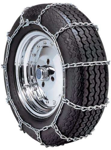 Security Chain Company QG1134 Quik Grip Type PL Passenger Vehicle Tire Traction Chain - Set of 2 - Supreme Legends Grips