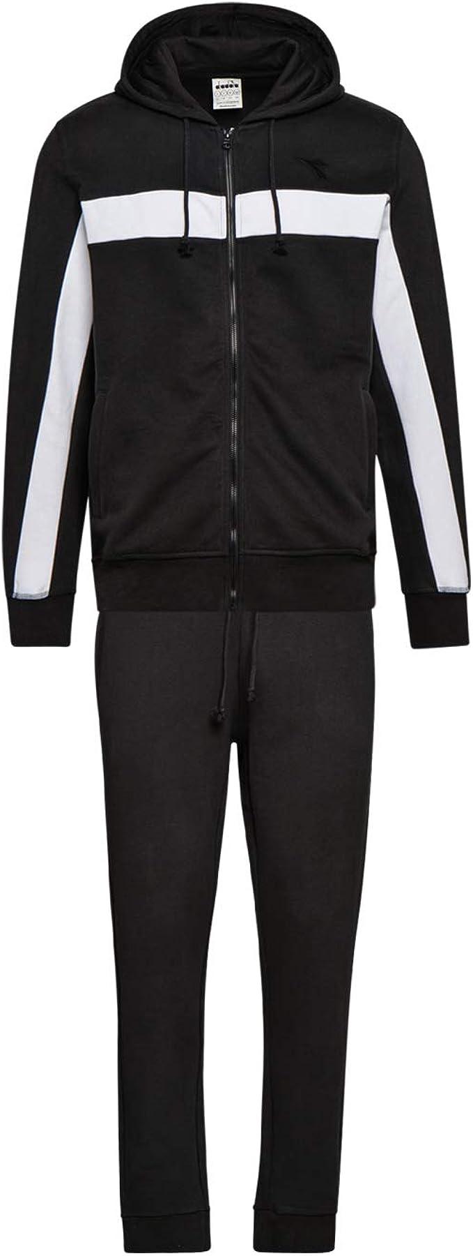 Diadora Tuta HD FZ Suit BLKBAR per Uomo