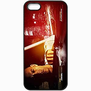 Personalized iPhone 5 5S Cell phone Case/Cover Skin Fast and furious 4 movies Black