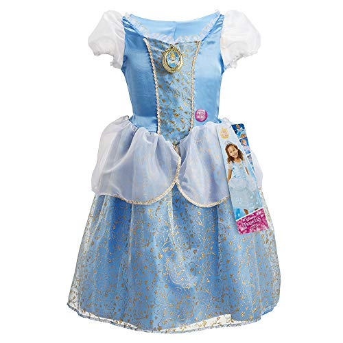 Disney Princess Cinderella Dress Costume, Sing & Shimmer Musical Sparkling Dress, Sing-A-Long to