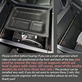 JDMCAR Center Console Organizer Compatible with