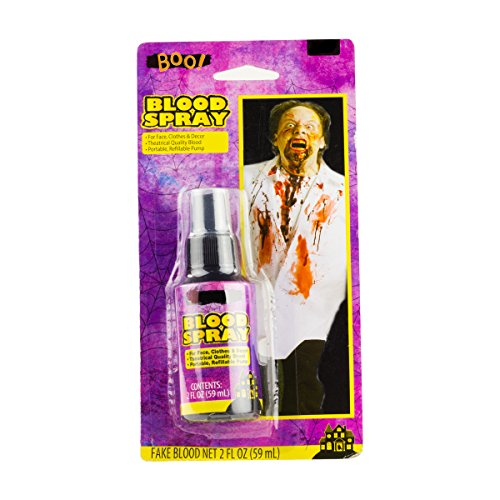 Fake Zombie Blood Spray Costuming Makeup 2 OZ
