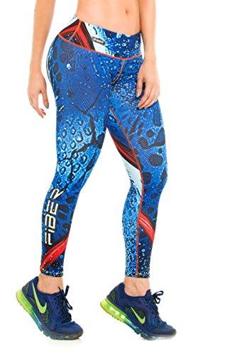 Mystique Leggings Superhero Yoga Pants Women's Compression Tights (Mystique Costumes)