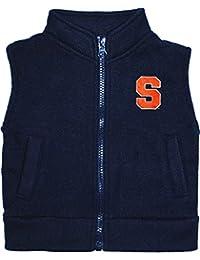 Creative Knitwear Baby Syracuse University Fleece Zippered Vest