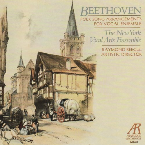 - Beethoven: Folk Song Arrangements for Vocal Ensemble