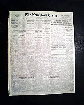 PRINCETON KY Caldwell County Jail Kentucky LYNCHING Hanging 1932 Old Newspaper THE NEW YORK TIMES, June 2, 1932
