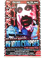 Rob Zombie House of 1,000 Corpses Signed Autographed Sid Haig as Captain Spaulding 11x17 Poster