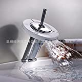 Single, 360 degree rotatable, three kinds of water, all copper, chrome plating, painting waterfall, water tap