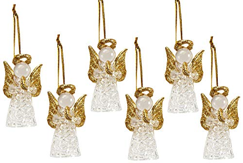 The Paragon Christmas Ornaments - Blown Glass Handcrafted Holiday Ornament Collection, Set of 6