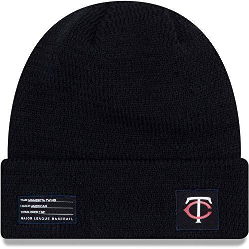 New Era MLB Minnesota Twins Sport Stocking Knit Hat Beanie Cuffed Skull Cap Navy
