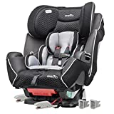 Evenflo Symphony LX Convertible Car Seat, Black