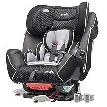Evenflo Symphony LX Convertible Car Seat, Black