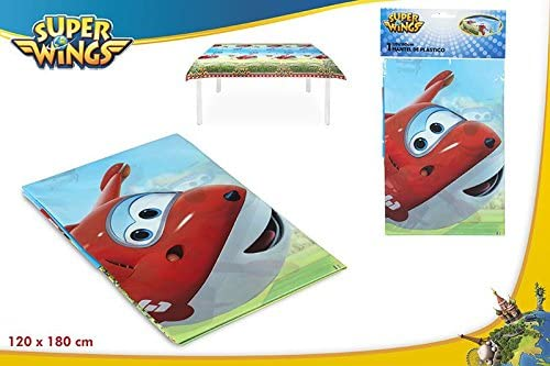 Colorbaby, 77066, mantel de plastico superwings para fiestas ...