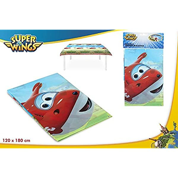 Colorbaby, 77066, mantel de plastico superwings para fiestas ...