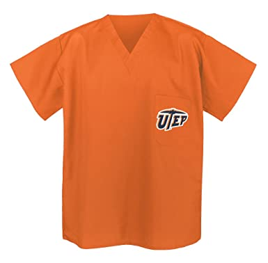 wholesale dealer 875af f6a13 Amazon.com: UTEP SCRUBS - Shirt UTEP Miners Tops for Men or ...