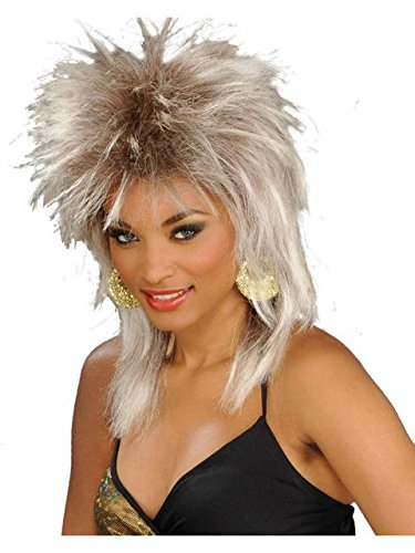 Rock Legend Costumes Wig (Unisex Blonde Rock Legend Wig - Adult Std.)