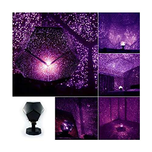 (Lebeauty Projector Light String Celestial Star Cosmos Night Lamp Night Lights Projection Starry Sky Home Cafe Shop Windows Wedding Birthday Fairy Party Decor Purpel)