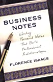 Business Notes: Writing Personal Notes That Build Professional Relationships