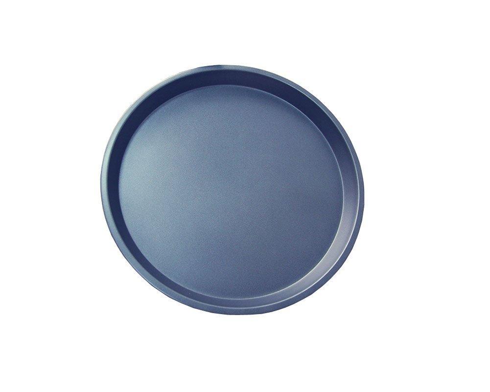 "NonStick Carbon Steel 13-inch Pizza Pan 0.8"" Depth Deep Dish Round Cake Pan"