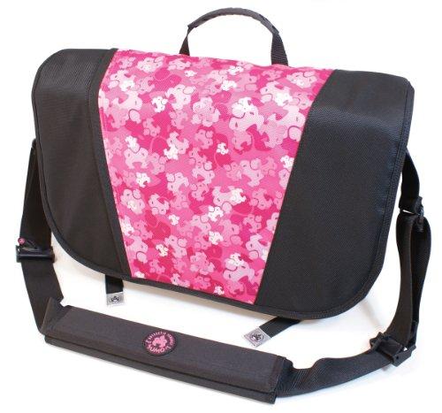 Sumo Laptop Sumo Messenger Bag- 16-Inch PC/17-Inch Mac (Pink Camo)