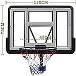 MGIZLJJ-Canestro-Basket-da-Camera-Deluxe-sopra-la-Porta-di-Pallacanestro-Mini-Parete-PVC-Rimbalzo-sopra-la-Porta-USA-for-AdultiGioventu-Basket-Stand-Regolabile