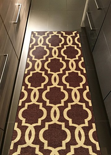 Custom Moroccan Trellis Non Slip Hallway