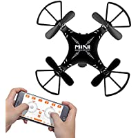 SainSmart Jr. Mini WiFi Drone with Live Video Camera, APP Track-Controlled One Key Return RC Quadcopter, Altitude Hold, Gravity Sensor