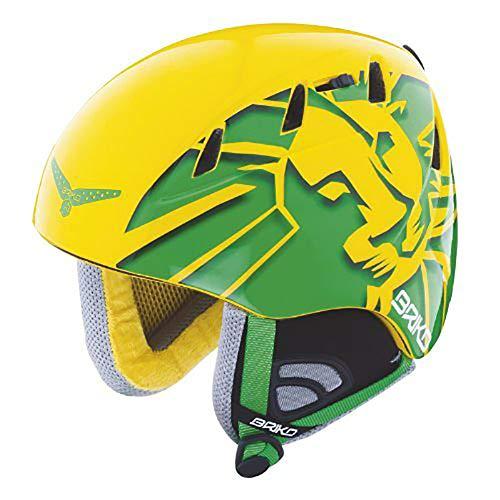 (Briko Kodiak Casco SCI Jamaica Green/Yellow Ski Helmet Size)