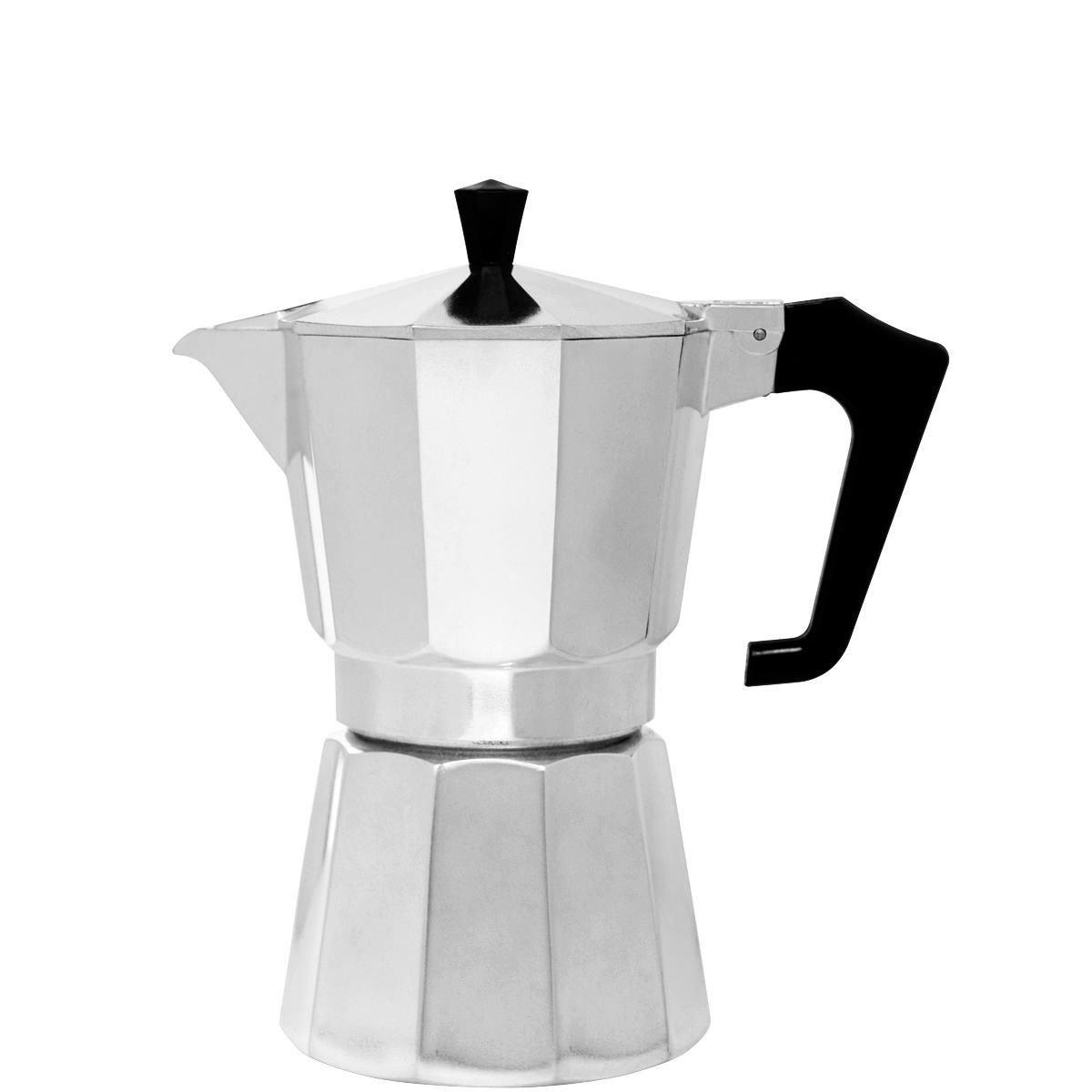 Italienischer Kaffeebereiter - fü r 6 Tassen - Aluminium - Esperto -BUTLERS