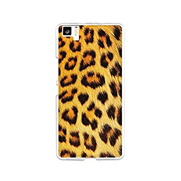 Funda Gel Flexible bq Aquaris M5 BeCool Animal Print Collection Leopardo Carcasa Case Silicona TPU Suave