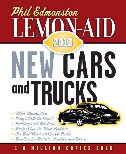 Lemon-Aid New Cars and Trucks 2013 (Lemon Aid New Cars and Trucks) ()