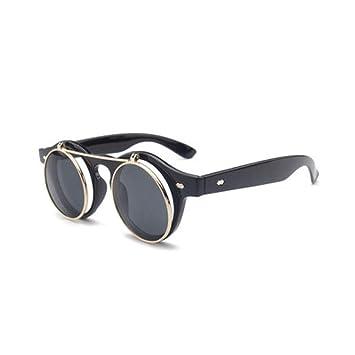 ZLULU Gafas De Sol Gafas De Sol para Hombre Gafas Vintage ...
