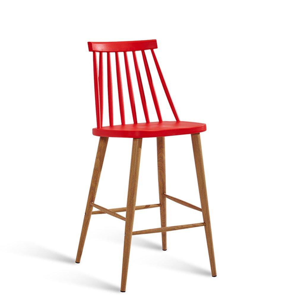 灰色のキッチンバーチェアメタルの脚と腕、4のセット、屋外屋内ダイニングルームベッドルームスツール (色 : 赤, サイズ さいず : Set of 2) B07DXRW7HG Set of 2 赤 赤 Set of 2