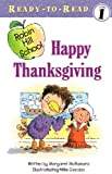 Mrs. Connor's class celebrates Thanksgiving in this Level 1 Ready-to-Read!Thanksgiving time is here, and Mrs. Connor's class is dressing up to celebrate. When the fire alarm goes off, they share their Thanksgiving cheer with the whole school!...