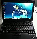 Lenovo ThinkPad X220 42872WU 12.5-Inch Notebook Computer (Intel Core i5-2520M,4GB RAM, 320GB HD, Windows 7 Professional), Black